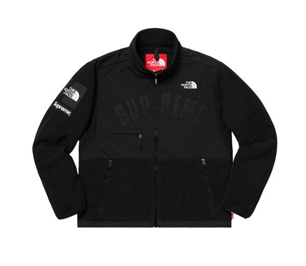 슈프림 노스페이스 아크로고 디날리 플리스 자켓 블랙 / Supreme The North Face Arc Logo Denali Fleece Jacket Black