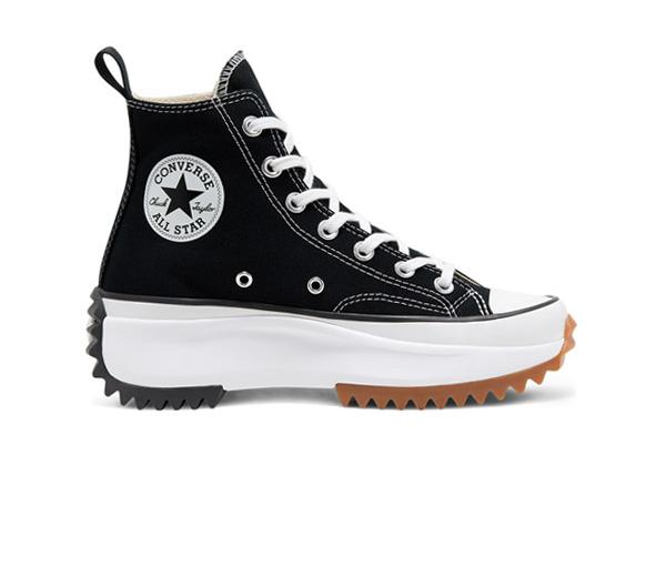 컨버스 런스타 하이크 하이 블랙 보급형 / Converse Run Star Hike Hi Black White Gum