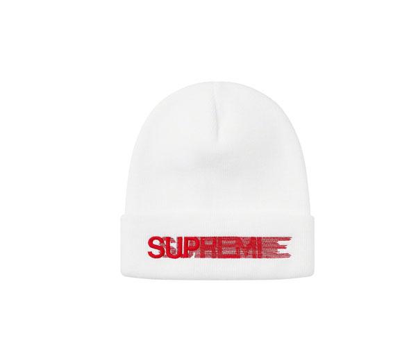 슈프림 모션 로고 비니 화이트 / Supreme Motion Logo Beanie White