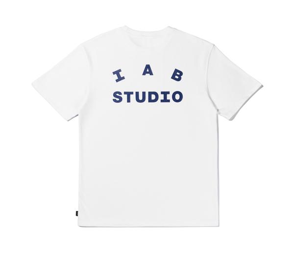 아이앱 스튜디오 화이트 반팔 티셔츠 / IAB STUDIO WHITE T-Shirt (2020)
