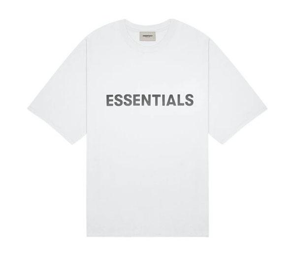 피어오브갓 에센셜 박시 티셔츠 화이트 / FEAR OF GOD ESSENTIALS Boxy T-Shirt White