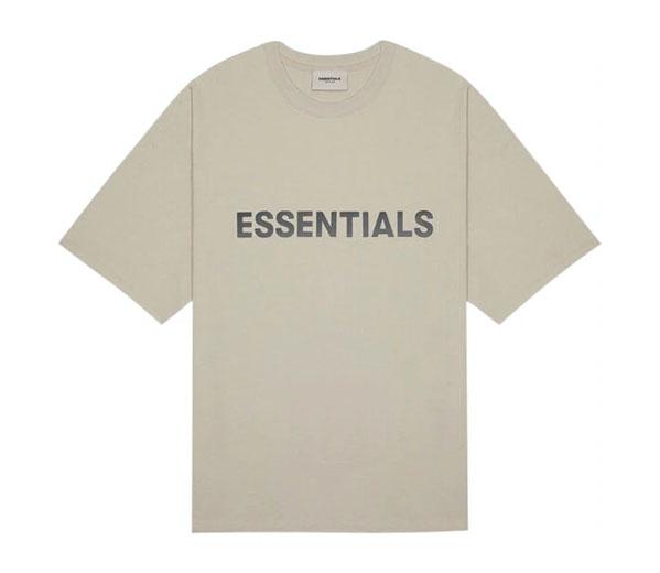 피어오브갓 에센셜 박시 티셔츠 탄 / FEAR OF GOD ESSENTIALS Boxy T-Shirt String Tan