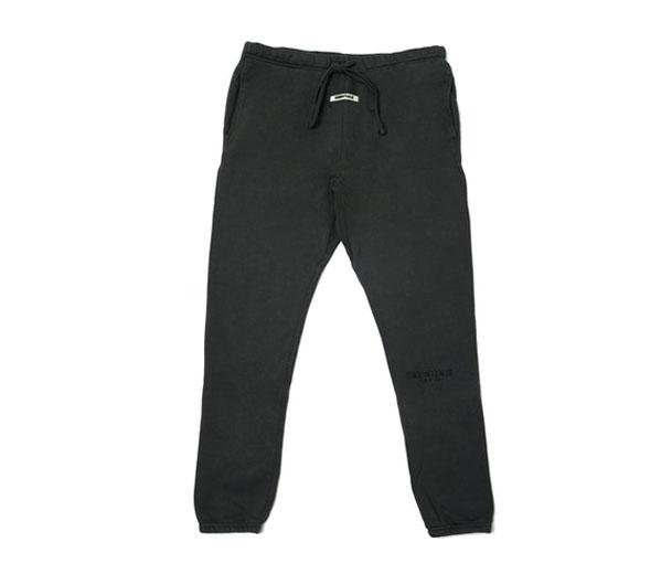 피어오브갓 에센셜 스웻팬츠 블랙 잉크 / FEAR OF GOD ESSENTIALS Sweatpants Black Ink