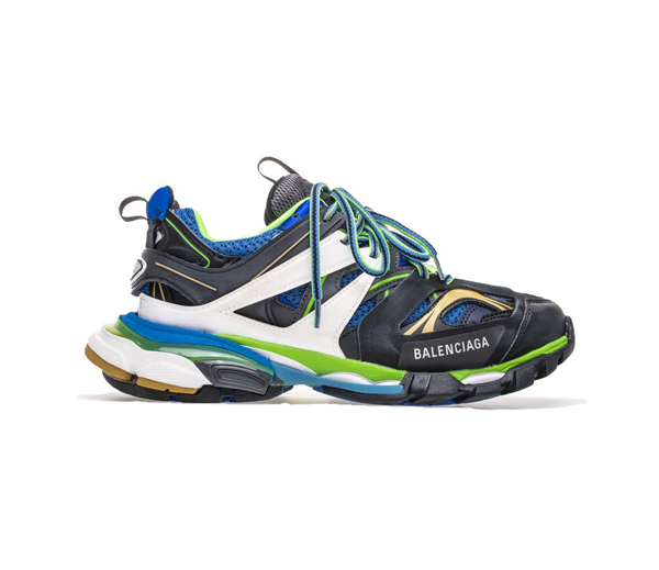 발렌시아가 트랙 트레이너 그린 화이트 블루 (2019) / Balenciaga Track Trainer Green White Blue (2019)