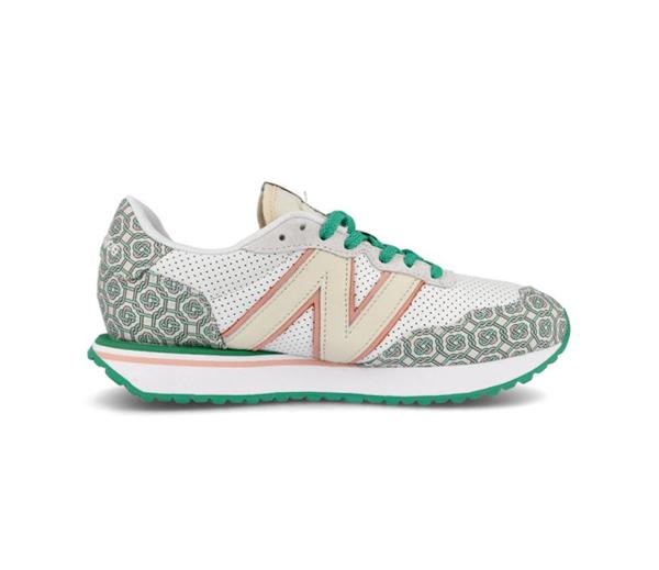 뉴발란스 X 카사블랑카 237 아이디얼리스트 모노그램 화이트 그린 / New Balance X Casablanca 237 Idealist Monogram White Green