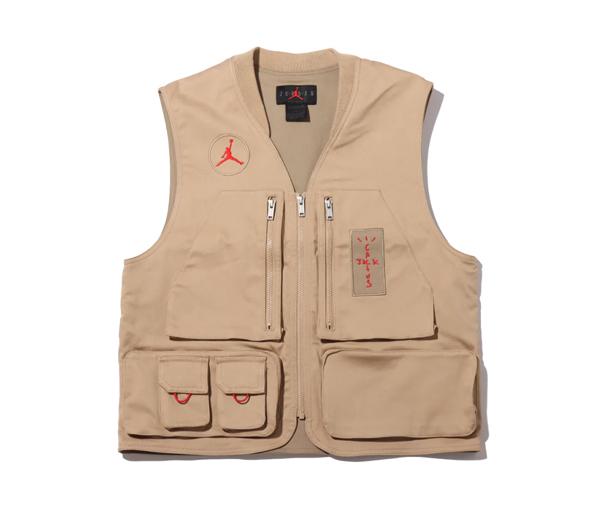 조던 X 트래비스 스캇 유틸리티 베스트 (아시아) / Jordan X Travis Scott Utility Vest (Asia)
