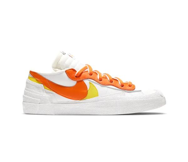 나이키 X 사카이 블레이저 로우 마그마 오렌지 / Nike X Sacai Blazer Low Magma Orange