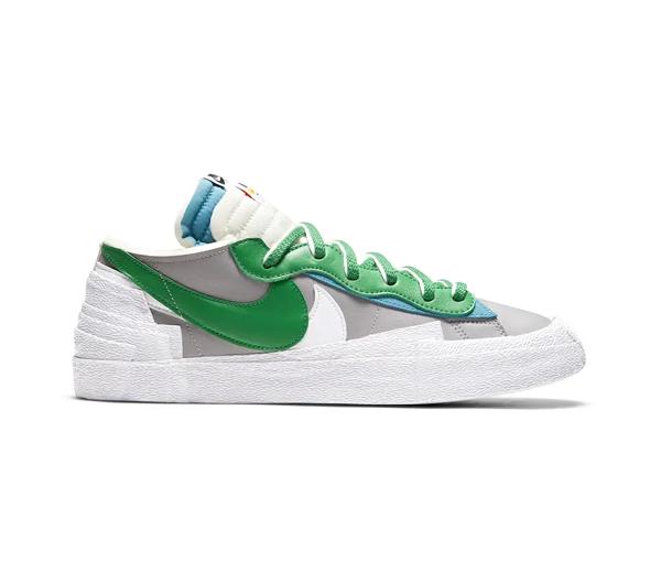 나이키 X 사카이 블레이저 로우 클래식 그린 / Nike X Sacai Blazer Low Classic Green