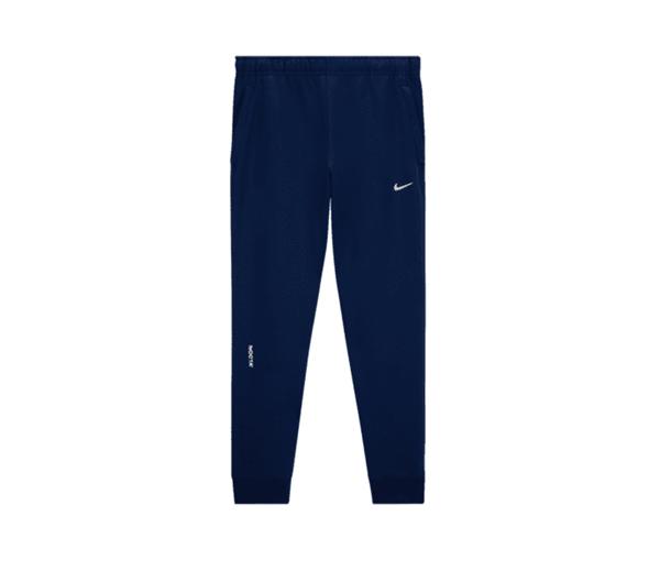 나이키 X 드레이크 녹타 카디널 스탁 에센셜 플리스 팬츠 네이비 (아시아) / Nike X Drake Nocta Cardinal Stock Essential Fleece Pants Navy (Asia)