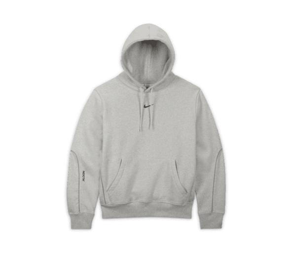 나이키 X 드레이크 녹타 카디널 스탁 에센셜 후디 그레이 (아시아) / Nike X Drake Nocta Cardinal Stock Essential Hoodie Grey (Asia)