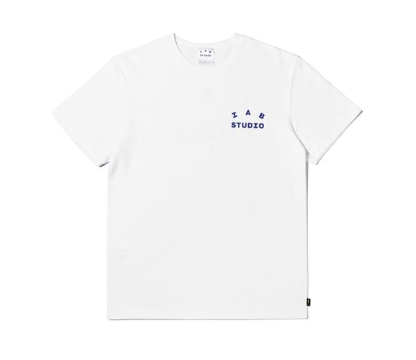 아이앱 스튜디오 티셔츠 화이트(2021) / IAB Studio T-Shirt White (2021)