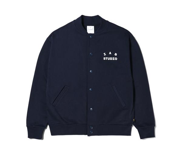 아이앱 코튼 스타디움 자켓 네이비 (2021) / IAB Studio Cotton Stadium Jacket Navy (2021)