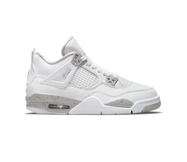 에어 조던 4 레트로 테크 화이트 (GS) / Jordan 4 Retro Tech White (GS)