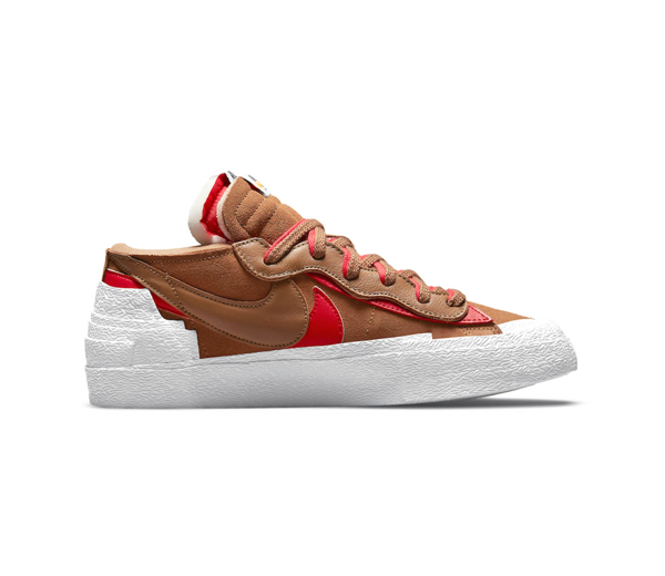 나이키 X 사카이 블레이저 로우 브리티쉬 탄 / Nike X Sacai Blazer Low British Tan