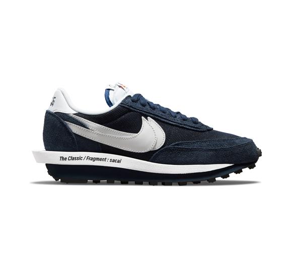 나이키 X 사카이 X 프라그먼트 LD와플 블랙큰드 블루 / Nike X Sacai x Fragment LDWaffle Blackened Blue